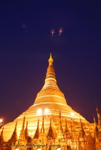 Shwedagon night views